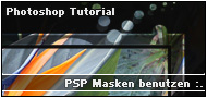 PSP Masken in Photoshop verwenden