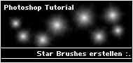 Star Brushes erstellen