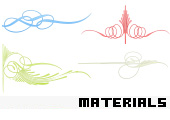 Scrapbooking Material 145 -