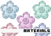 Scrapbooking Material 135 -