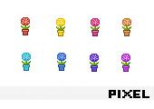 - Pixel-Art Grafiken 1266 -