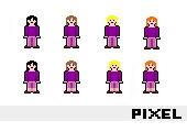 - Pixel-Art Grafiken 525 -