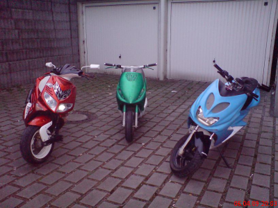 Speedfight, Zip, Aerox